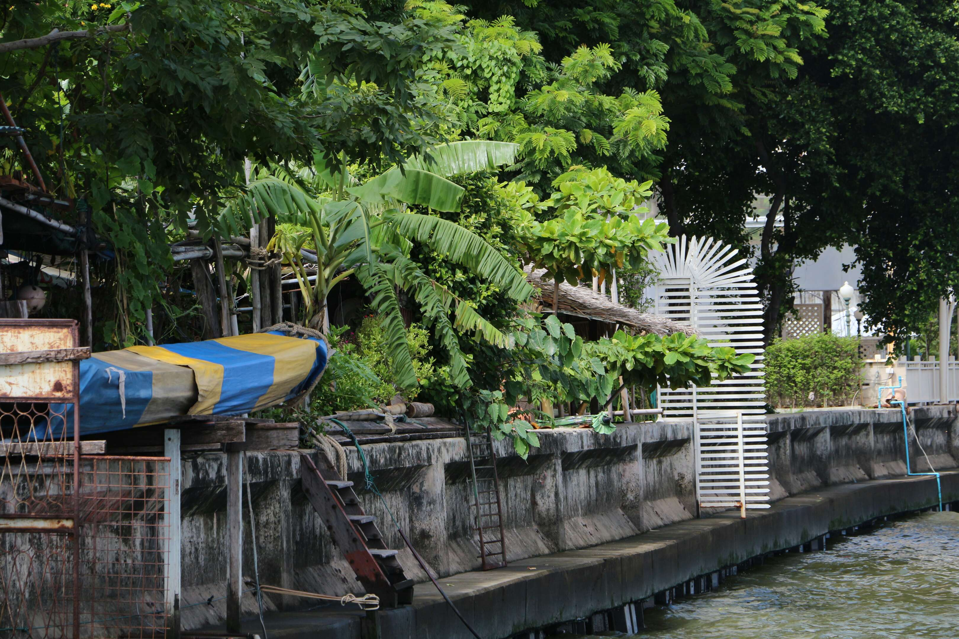 Erstes Guesthouse in Bangkok