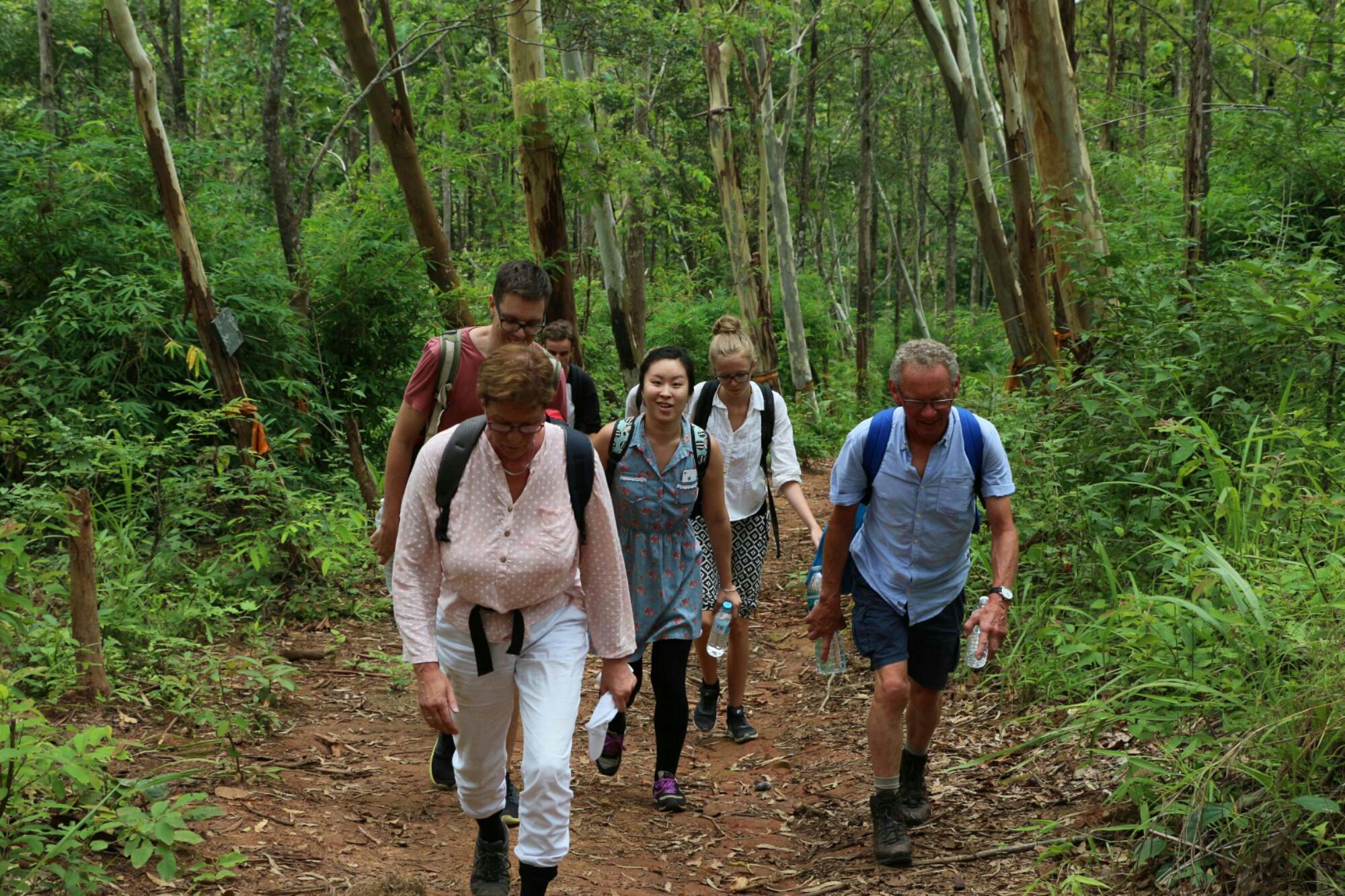 Trekking Mae Taeng