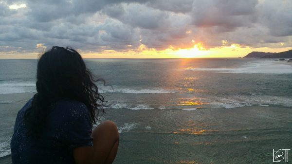 Watching the beautiful sunset! Thanks for that day :)